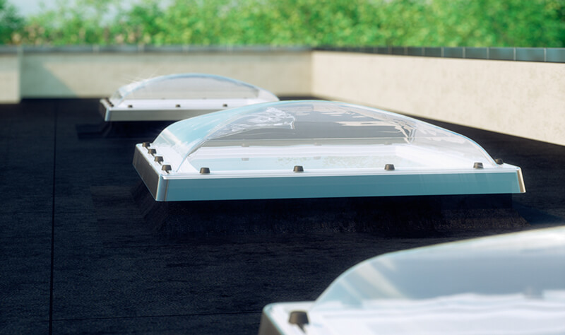 Fakro flat roof windows