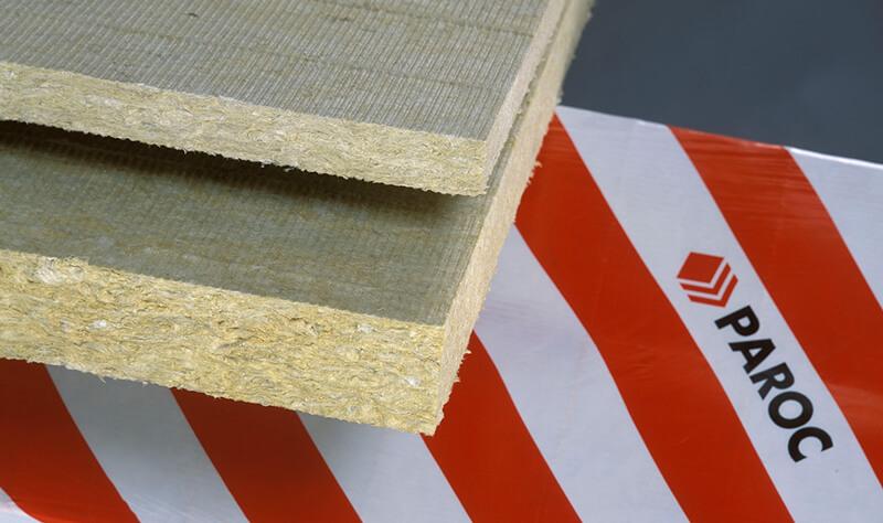 Paroc mineral fibre insulation